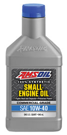 10W-40 Synthetic Small Engine Oil - Commercial Grade (ASF)